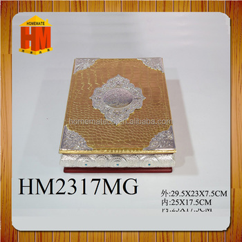 Hot Popular Luxury Hign Design Cover With Love Heart Wooden Quran