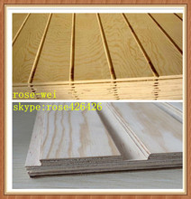 9mm 12mm 15mm 18mm full pine slatwall plywood