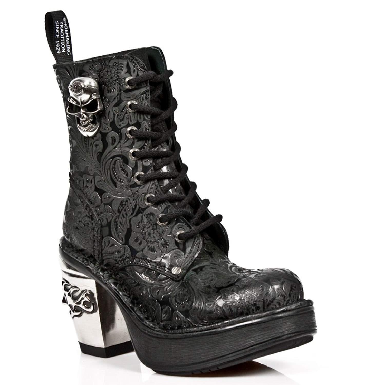 NEWROCK NR M.8358 S1 Black - New Rock Boots - Womens