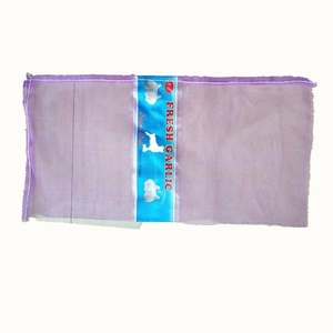 China impact resistance reusable mesh bags for fruit packing