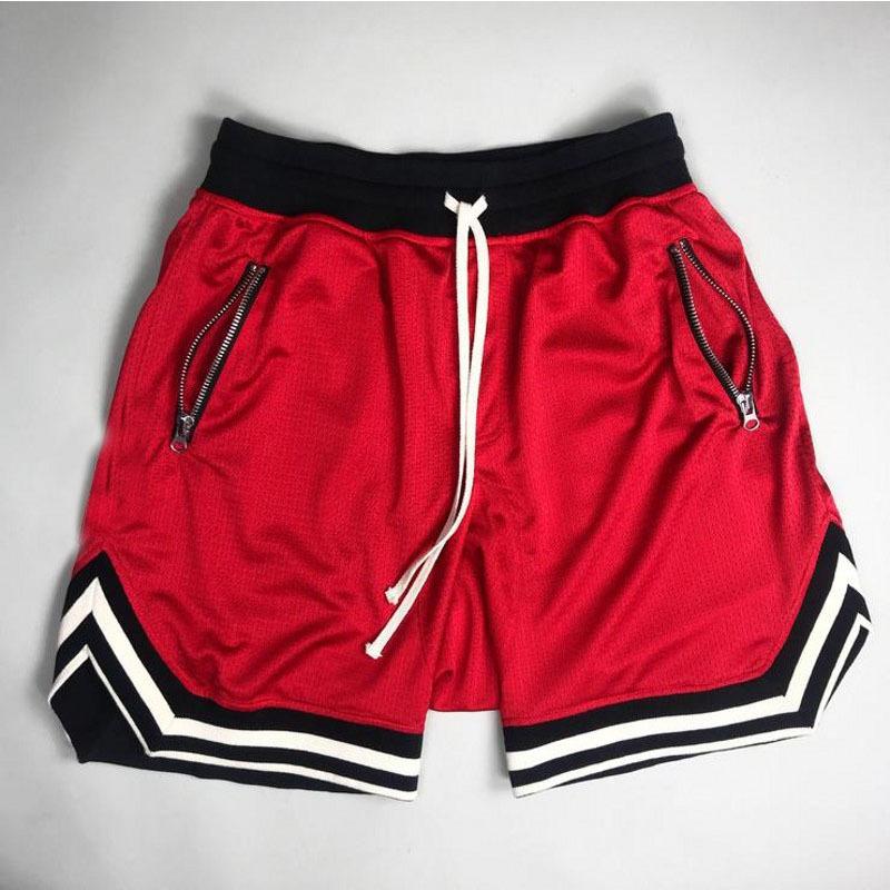 CLASSIC Camo บาสเกตบอลกางเกงขาสั้นซิปกระเป๋า