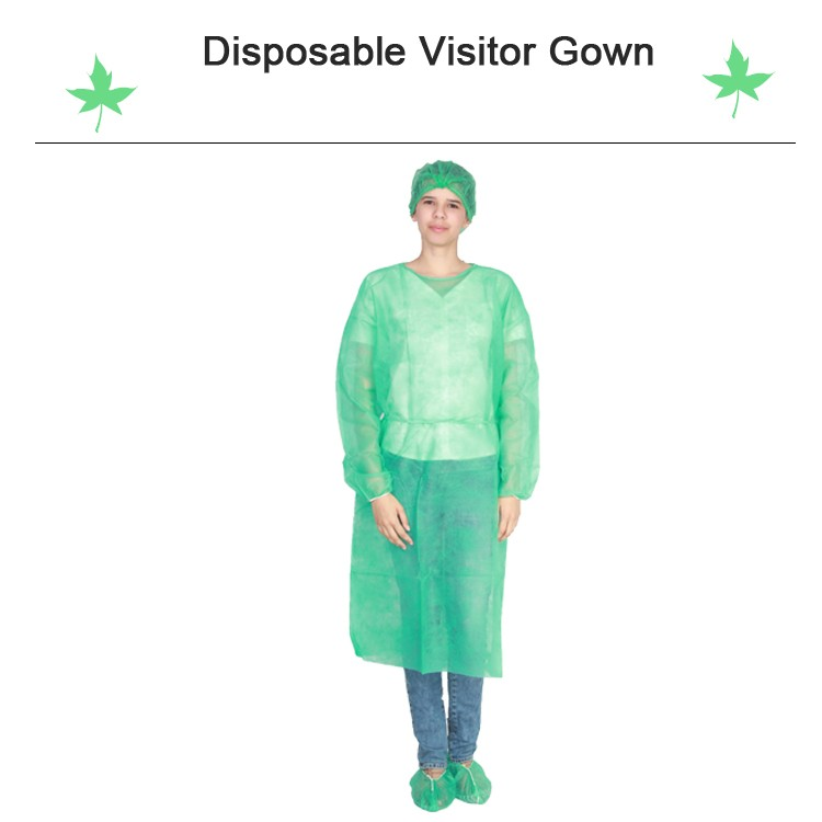 Isolation Gown Yellow,Sterile Isolation Gown,Tie-back Disposable ...