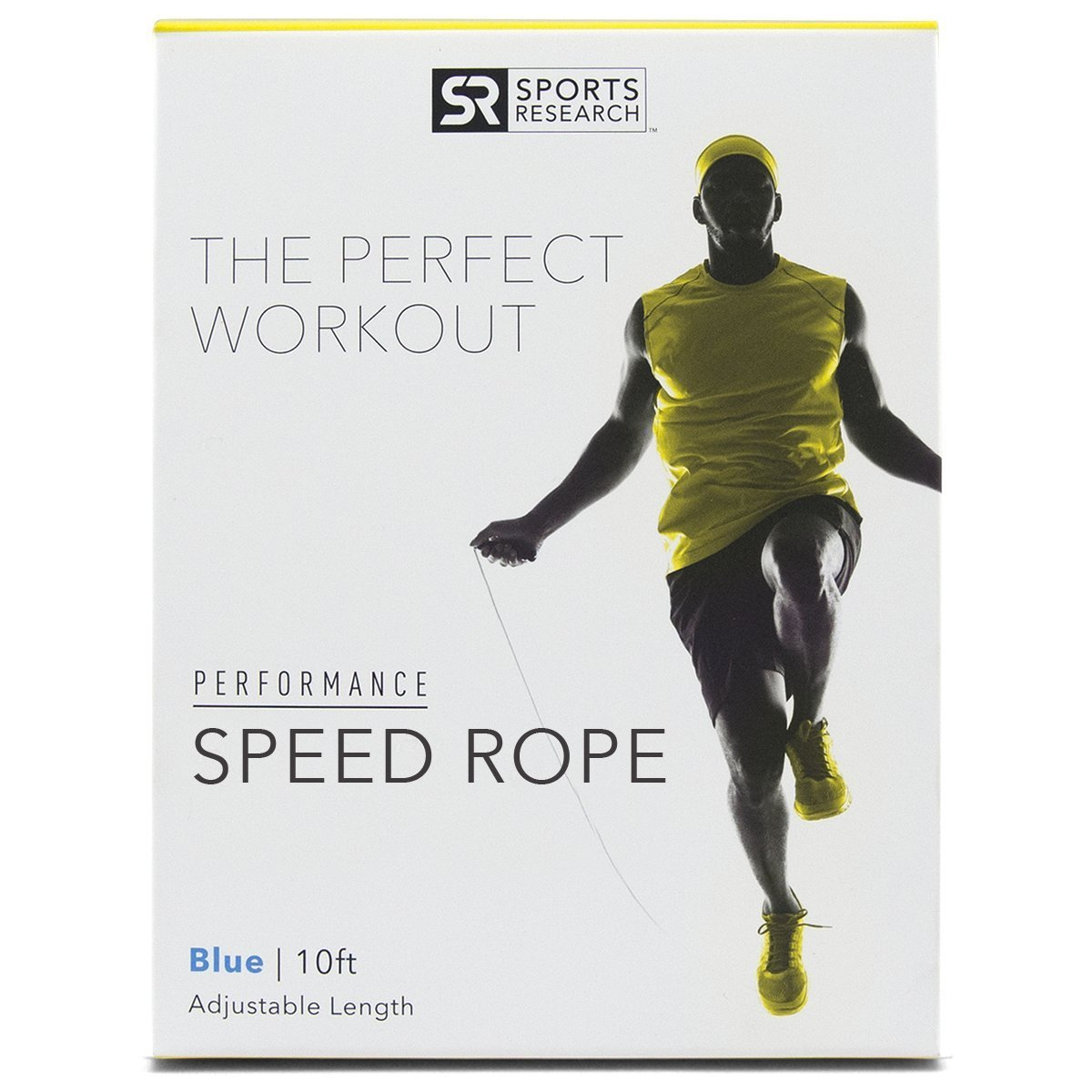 09d5d03bf5 Get Quotations · Sweet Sweat Speed Jump Rope - The ONLY adjustable cable  rope with duel ball bearing handles