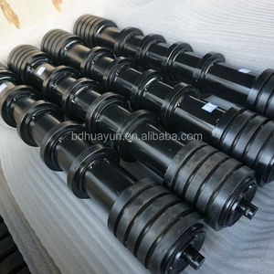 belt conveyor rubber disc return idler roller