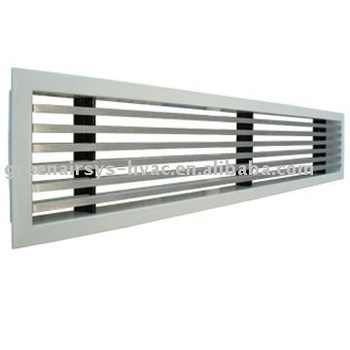 Linear Bar Diffuser Air Conditioning Slot
