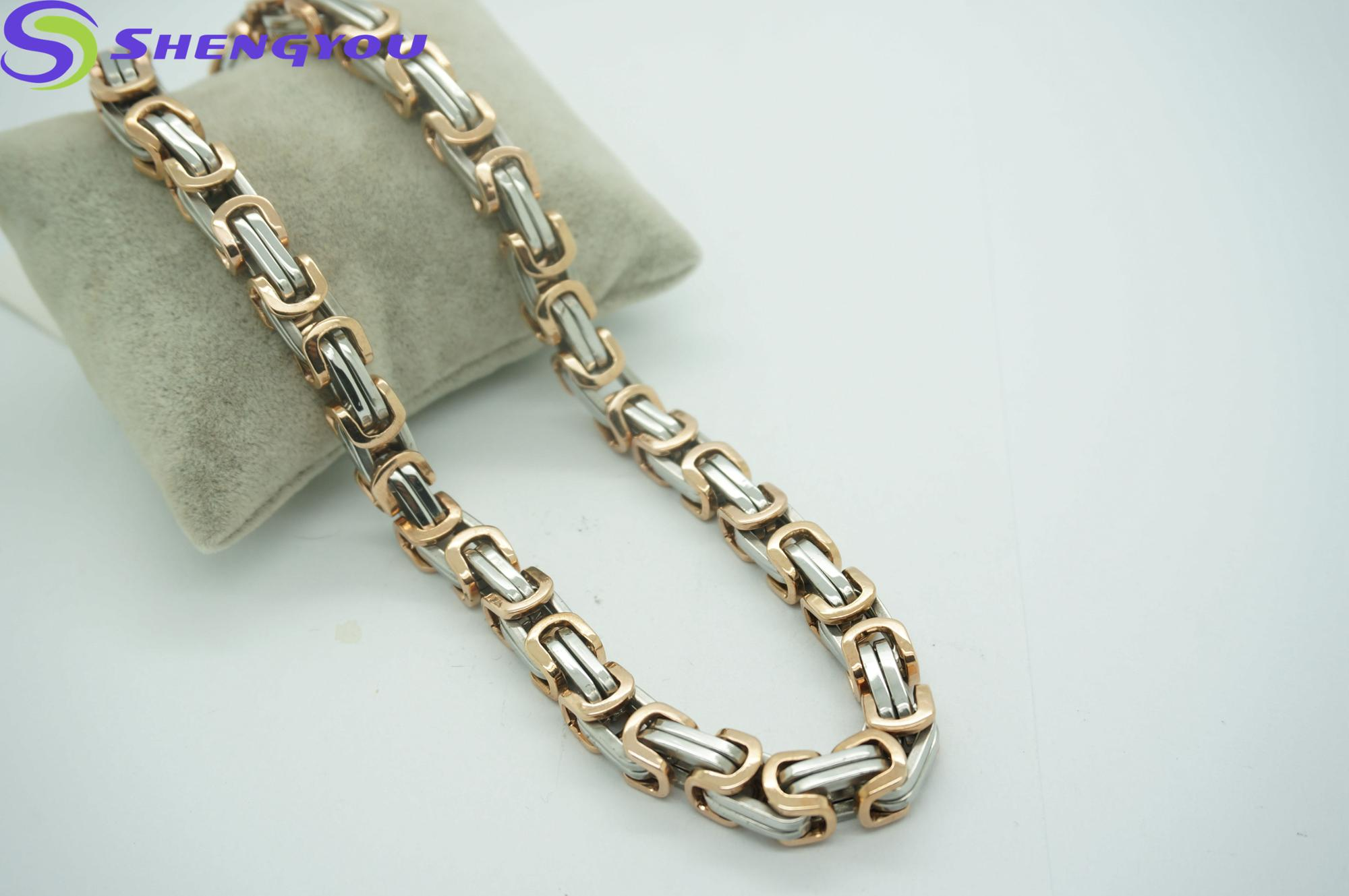 men necklace solid steel s chain bracelet dp figaro stainless com amazon