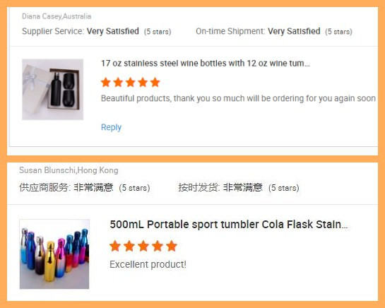 Wholesale Portable Silver Drinking Cup Double Wall Stainless Steel Tumbler Insulated Sport Vacuum Flask(500ml)