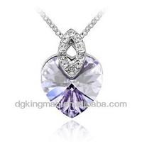 Fashion Jewelry Las Vegas With Purple Heart Design