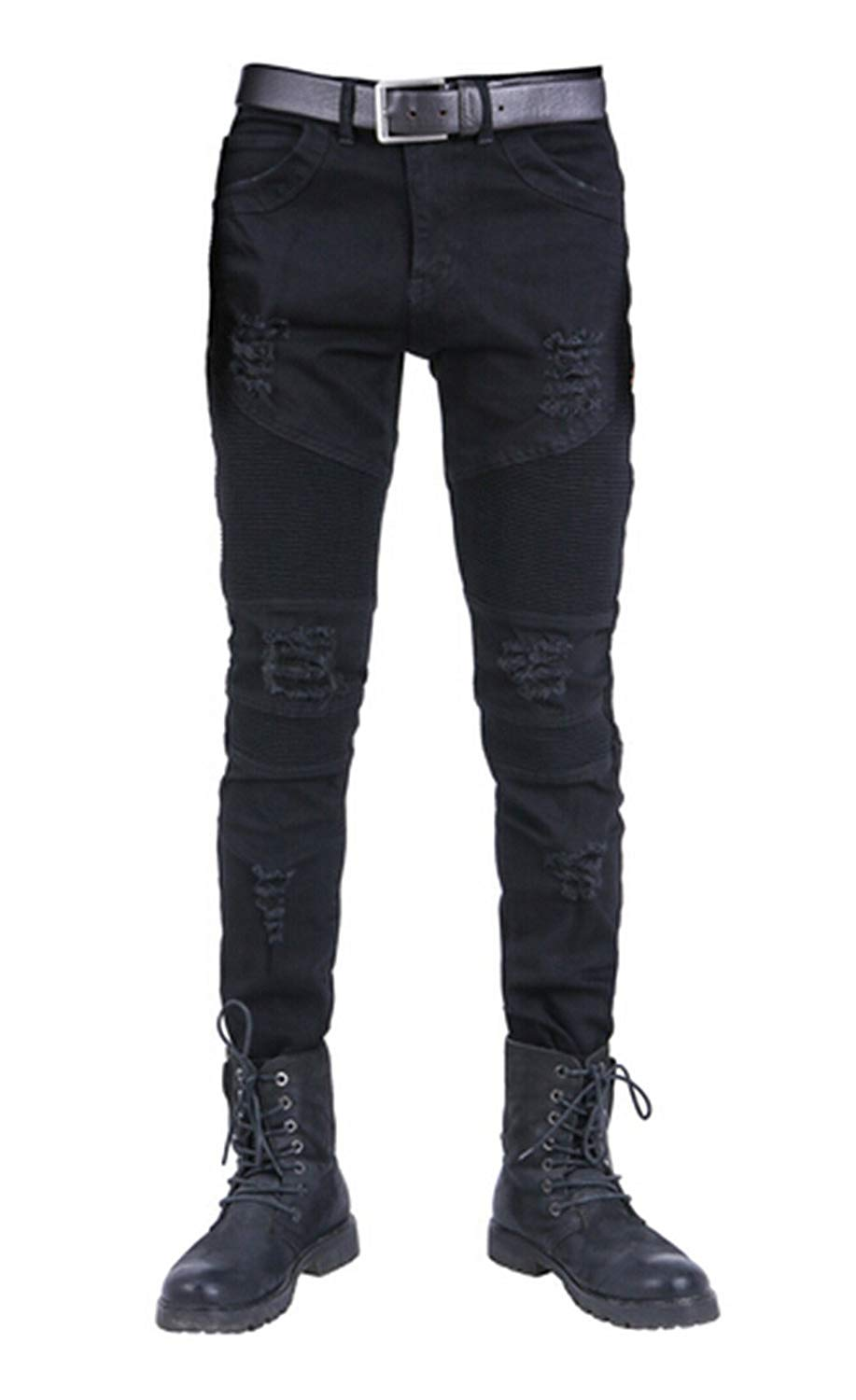 Spirio Men Winter Vintage Loose Plus Size Harem Pants Jeans Denim Pants