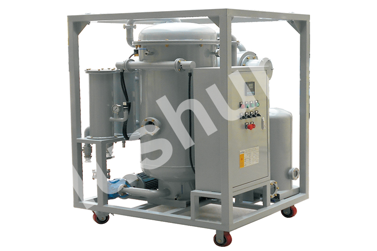 1800L/H Single Stage High Efficient Vacuum System Insulation Oil Centrifuge oil purifier machine/transformer oil plant