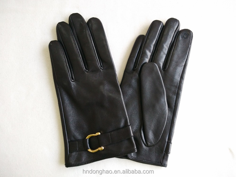 Wholesale Leather Gloves Touch Screen Gloves for Woman