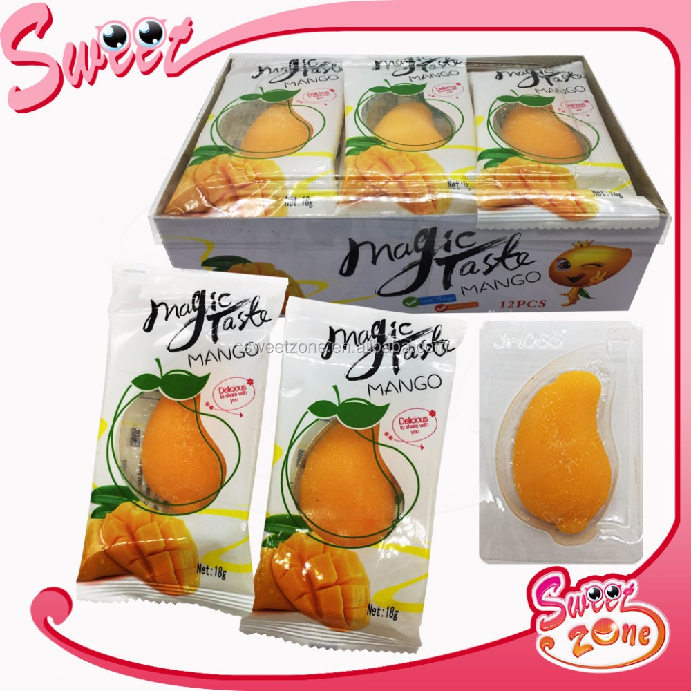 Big Mango Shape Soft Jelly Candy