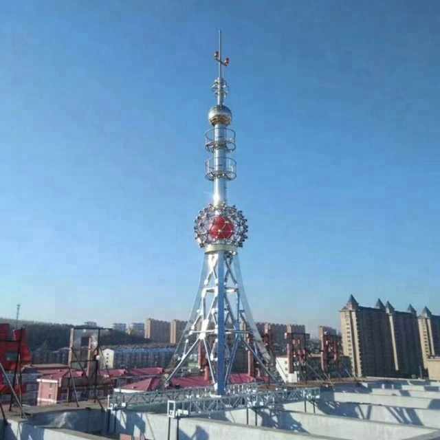 Well-designed Rooftop Decorative Lattice Antenna Tower For  Telecommunication - Buy Lattice Tower Design,Steel Lattice Tower,Antenna  Tower Product on