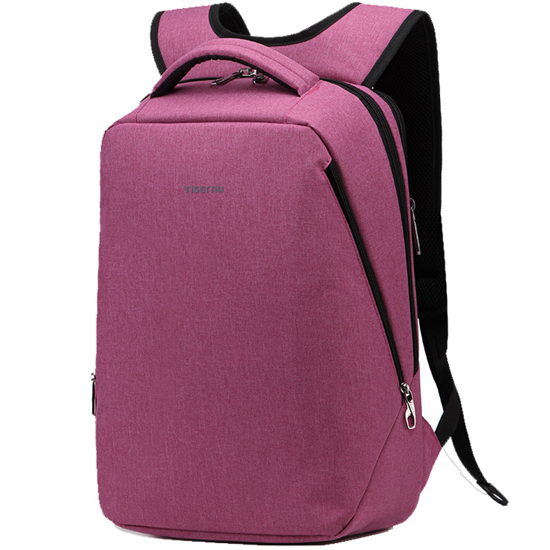 ZOUQILAI Fashion school backpack teen canvas notebook backpack female cute style backpack travel bag four-color selection