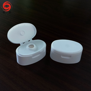 28mm Plastic Shampoo Cap Lotion Cap Flip Top Cap For Cosmetic Bottles