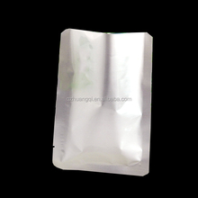 food grade recycle biodegradable food aluminium vacuum seal press plastic bag packaging