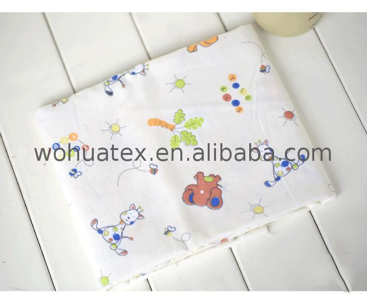 buy printed 100% cotton flannelette