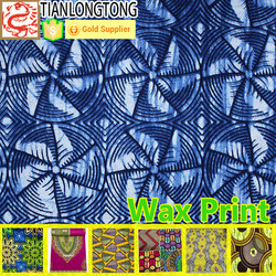 Tropical Custom Traditional batik West African Fabric Patterns