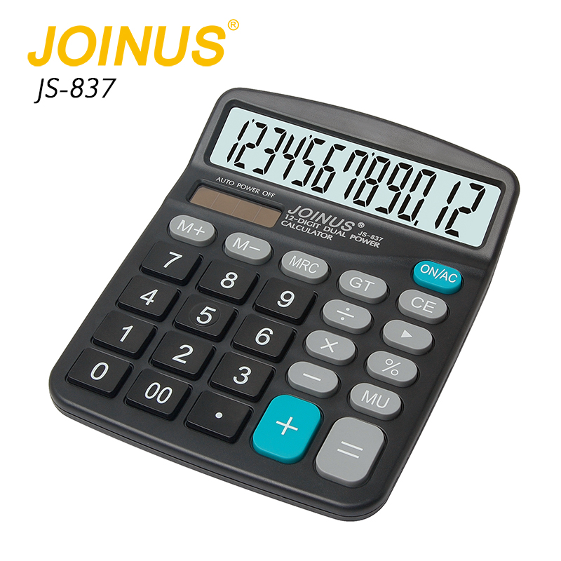 Office gift cheap solar powered calculator Multifunction