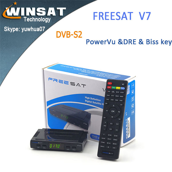 Cheapest DVB-S2 Freesat V7 in stock Full 1080P <strong>hd</strong> <strong>satellite</strong> <strong>receiver</strong> Support <strong>Youtube</strong> and Youporn