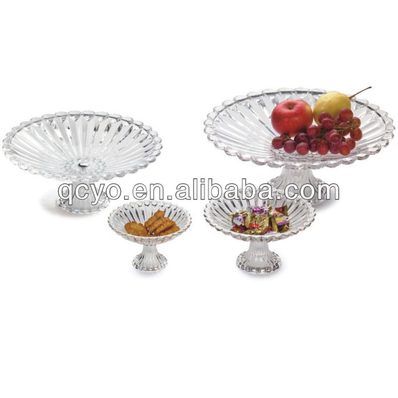 fashionable transparent acrylic fruit plate decoration for home