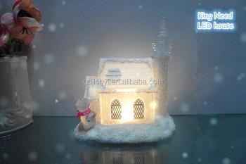 weihnachten acrylglas haus