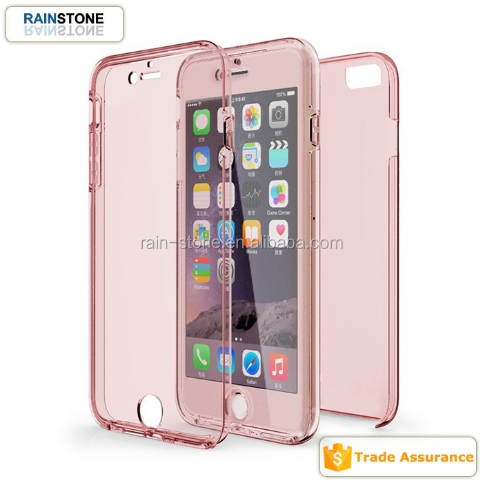 New Arrival Full Protective Hard PC+Soft TPU Case for iPhone 6 plus/6 s plus cover
