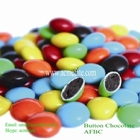 compound cheap candy ball shape button chocolate