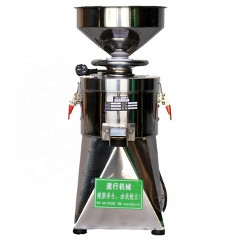 Mini Stainless Steel Automatic Peanut Butter Grinding Machine