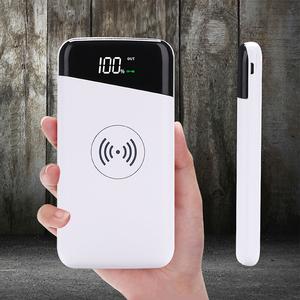 Wallet Stone 12 Kvar Power Capacitor 10000Mah Wireless Charging Power Bank