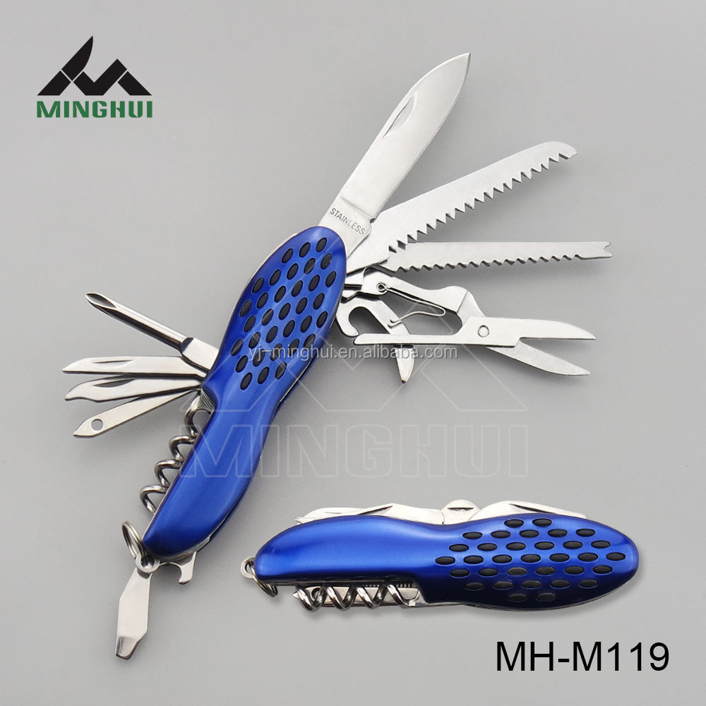 New design stainless steel multi function knife