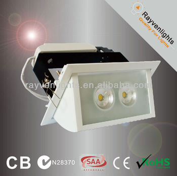 Citizen Cob Led 35w Rectangle Led Downlight With Rotational Head ...