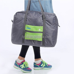 Chinese supplier wholesales Foldable Travel tarpaulin duffel bag