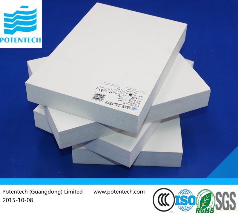 Guangzhou Canton Fair 2015 Green Building Material High Quality PVC Foam Sheet