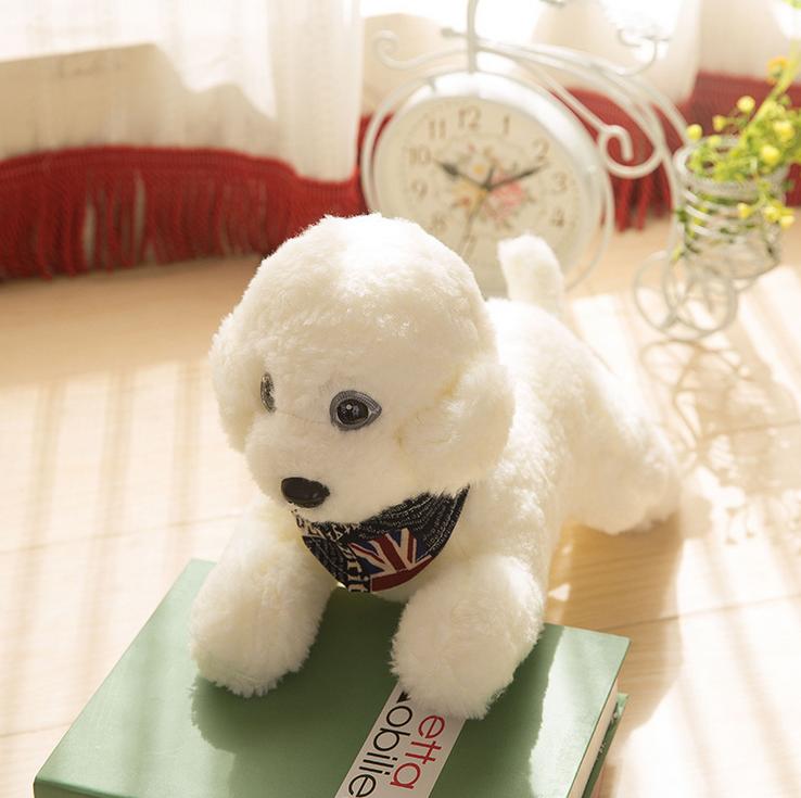 China wholesale cute stuffed girls teddy dog plush