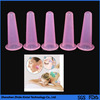silicone suction personal massage rubber cupping set
