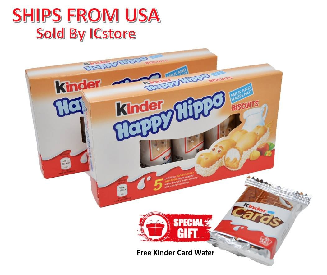 kinder happy hippo sverige