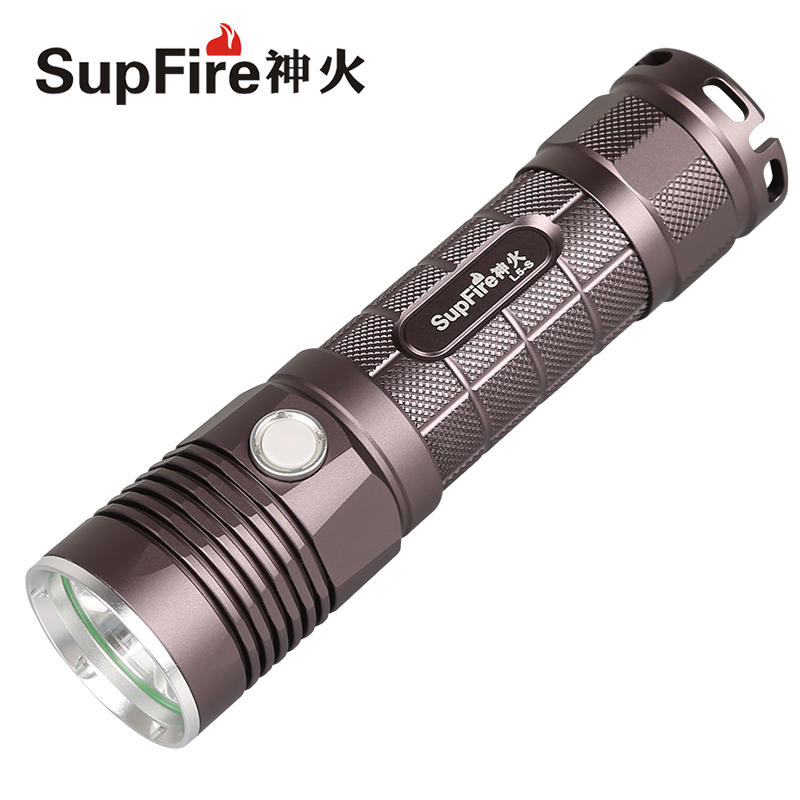 Use 18650 or 26650 Battery Police 10w Flashlight