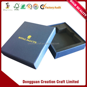 Advertising environmental protection folding cardboard box printing
