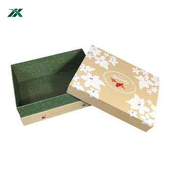 Customized Luxury recycled hard carton for fashion packaging wedding photo album box
