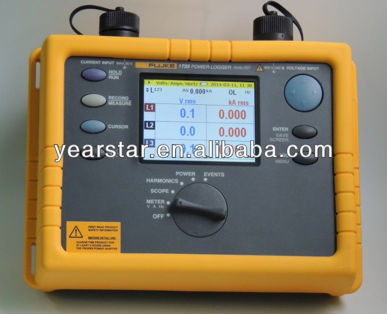 Fluke 1735 Three-Phase Power Logger Driver Windows XP