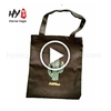 Promotional custom printed cotton canvas tote bag