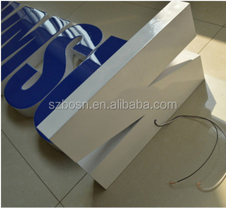 2014 hot selling high SAMSUNG acrylic led letter perspex LED Letters Outdoors