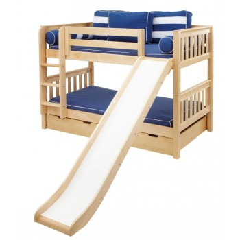 Pine Wooden Children Popular Slide For Bunk Bed Buy Slide For Bunk