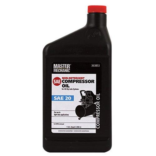 OLYMPIC OIL 363853 SAE20 Master Mechanic Non Detergent Motor Oil, 1-Quart