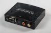 1080P VGA RCA to HDM I Stereo Video Audio R/L Converter Adapter Box For PC HDTV