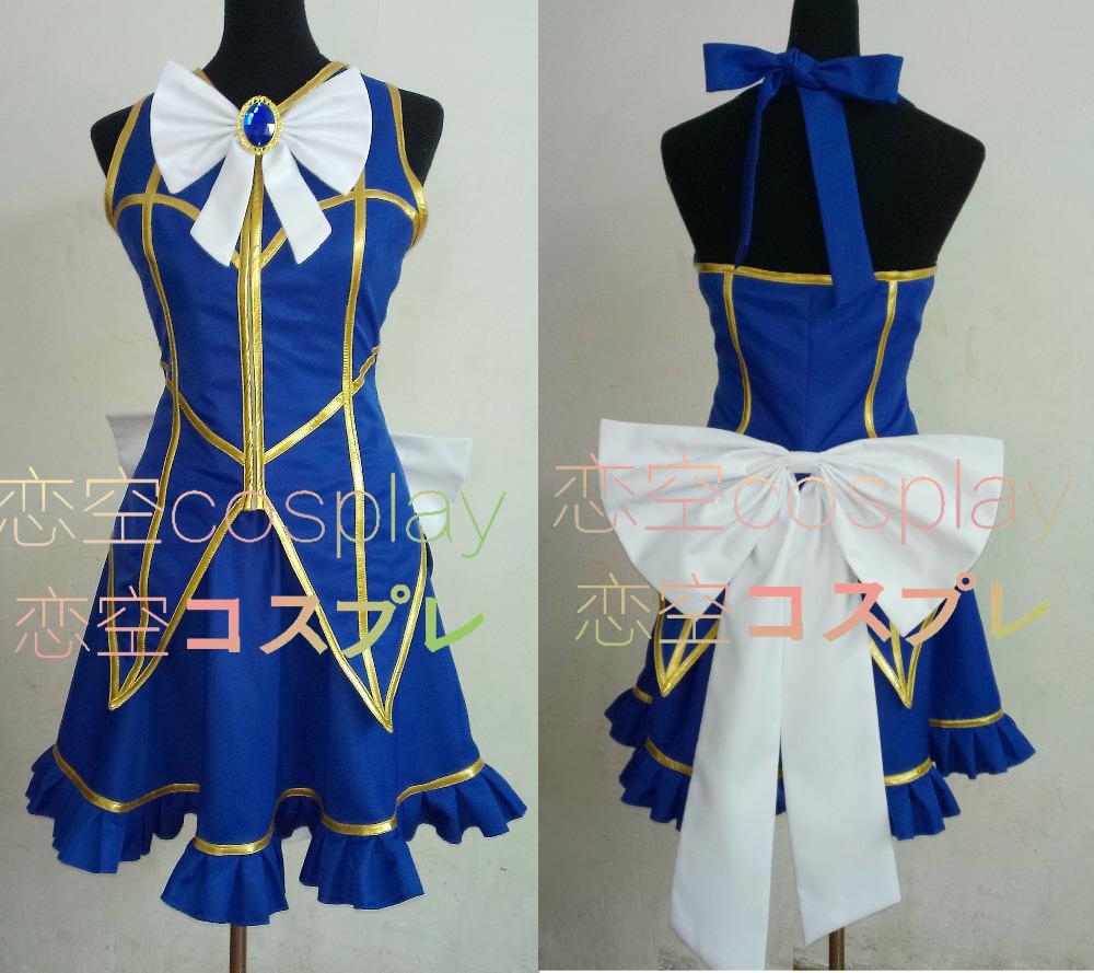 Cosplay Costume Fairy Tail Lucy Heartfilia Default Uniform ...