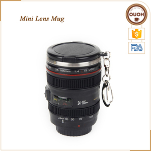 Hot Sale Camera EF 24-105mm Mug With Key Ring Mini Lens Cup