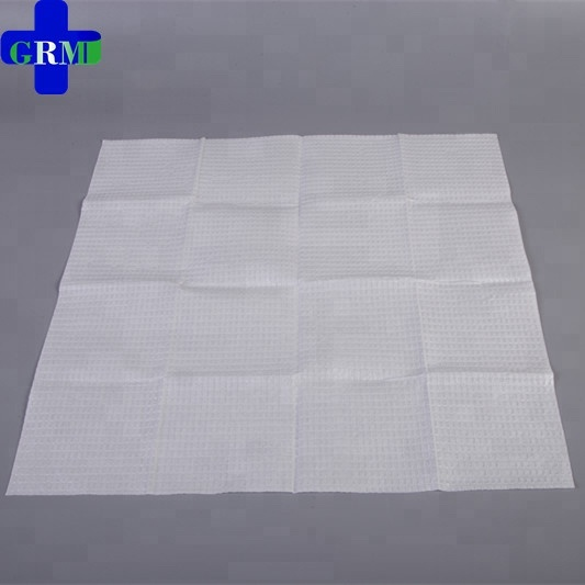 Hospital Disposables 3 ply PE Laminating Tissue Disposable Sterile Surgical Hand Towel