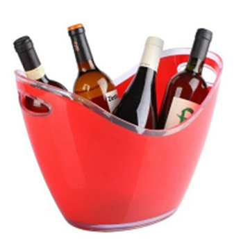 Custom Plastic Ship Shaped Beer Ice Bucket for Sale